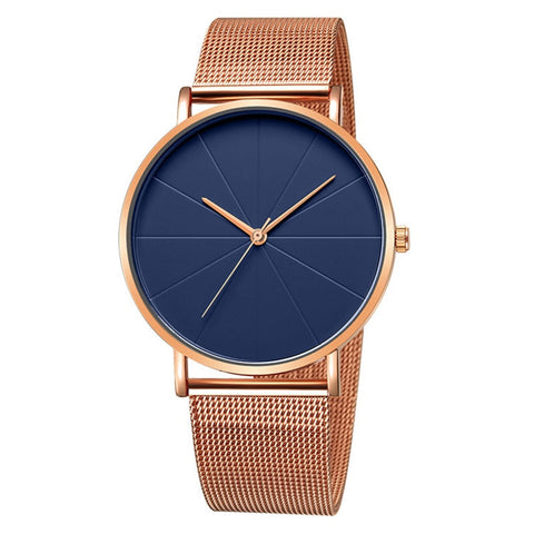 Ella Watch - Rose Gold, Black, Silver