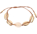 Shell Necklace & Bracelet Set