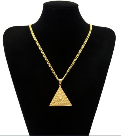 Natalie Pyramid Necklace