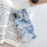 Silicone Luxury Marble Case For iPhone