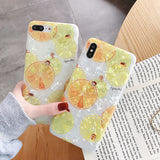 Glitter Marble Case For iphone