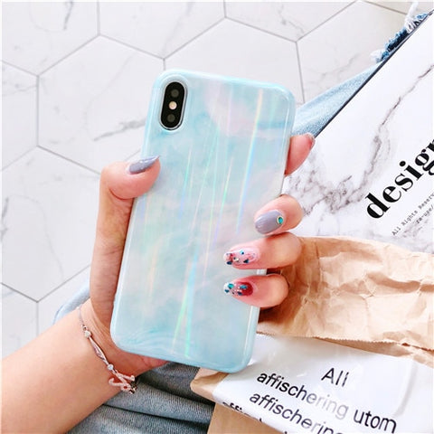 Granite marble phone cases for iPhone