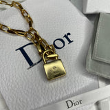 Pre Order Lucky Dior Padlock Necklace