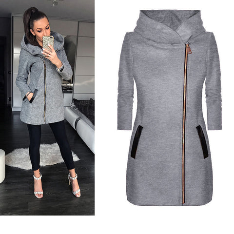 Kendra High Collar Coat