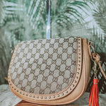 Cross Body Up Cycled Louis Vuitton or Gucci Handbag - Authentic