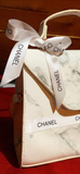 Chanel Ribbon - White - Use as a hair bow, choker, shoe lace, hat accessory & more!