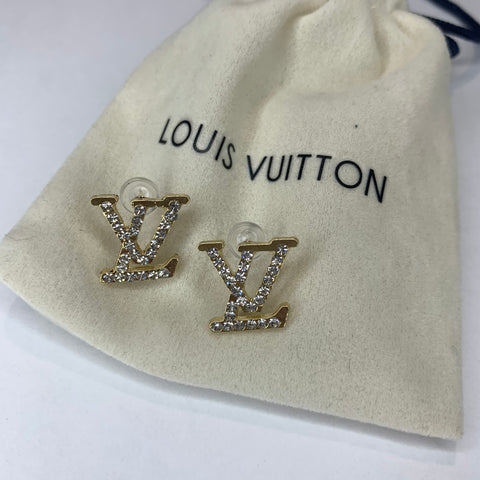 Pre-Order LV Earrings Gold