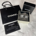 Vintage Luxury CC Studs - As sent in our AGENCY PACKAGE featuring a Chanel Sponsored Post