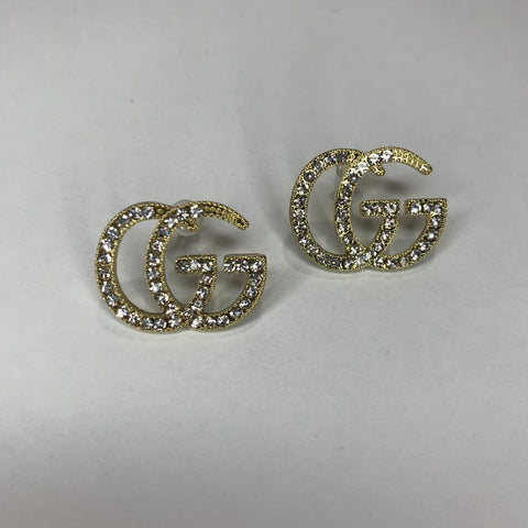 Pre order Gold Double G Gucci Earrings