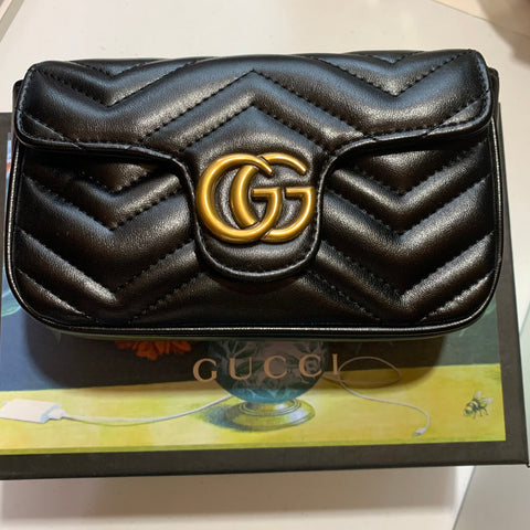 Pre Order Gucci Flap Bag - Black