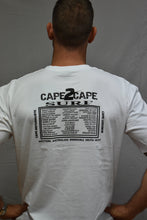 Load image into Gallery viewer, mens cape 2 cape t-shirt white
