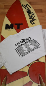 mens cape 2 cape t-shirt white
