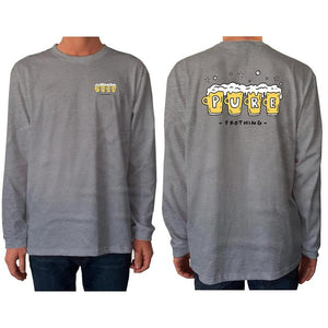 mens frothing l/s t