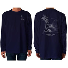 Load image into Gallery viewer, mens simple times l/s t