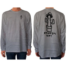 Load image into Gallery viewer, mens stick em up l/s t