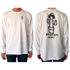 mens stick em up l/s t