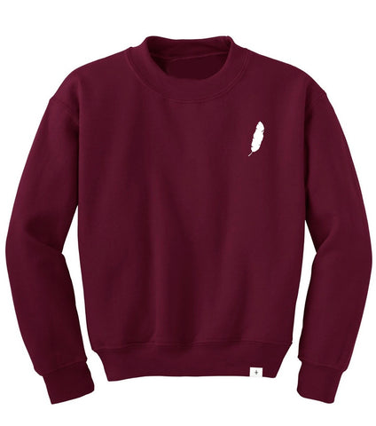 F + C Leaf Crew Neck Sweater