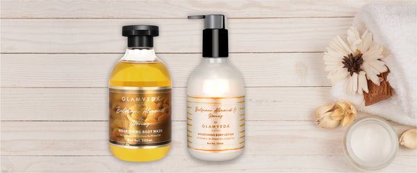 Why are natural body wash and lotions important for skincare?