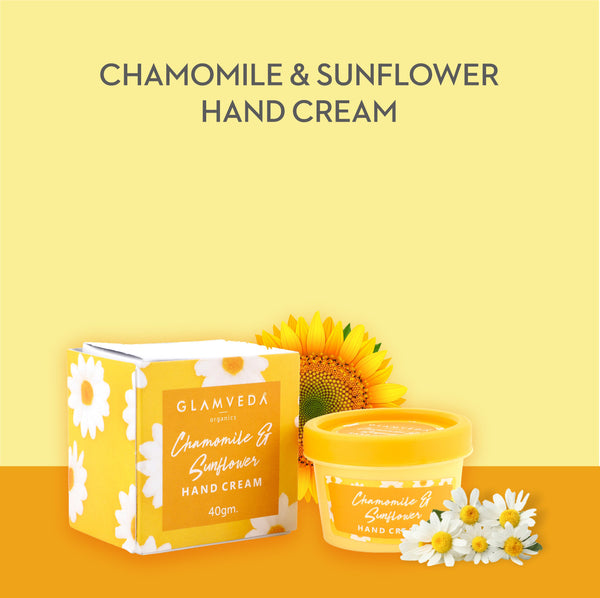 Glamveda Chamomile & Sunflower Hand Cream