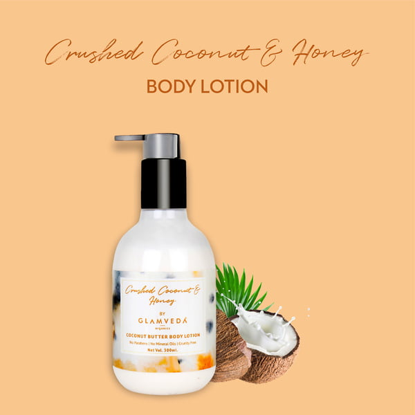 Glamveda Crushed Coconut & Honey Body Lotion 300ml