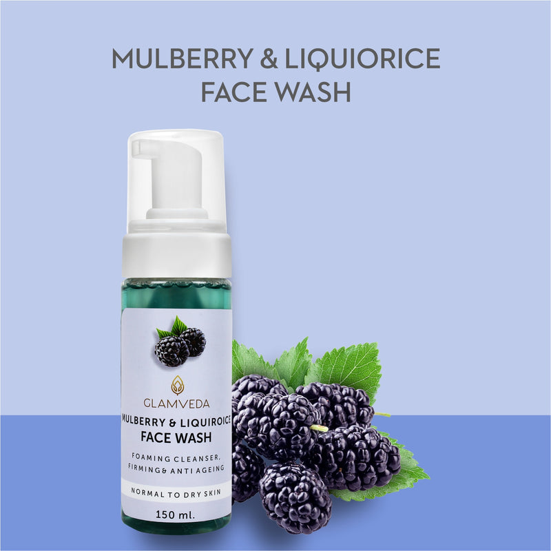 Glamveda Mulberry & Liquiroice Brightening Face Wash 150ml
