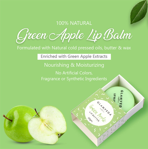 Glamveda Green Apple Lip Balm