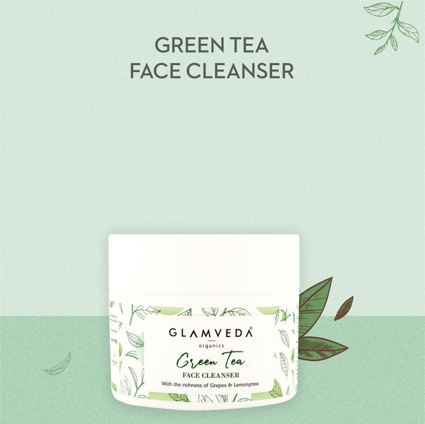 Glamveda Green Tea Recharge & Renew Cleanser