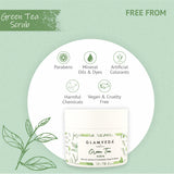 Glamveda Green Tea Recharge & Renew Scrub | 250 gm