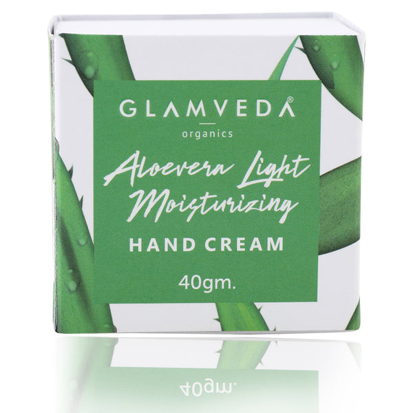 Glamveda Aloevera Light Moisturizing Hand Cream