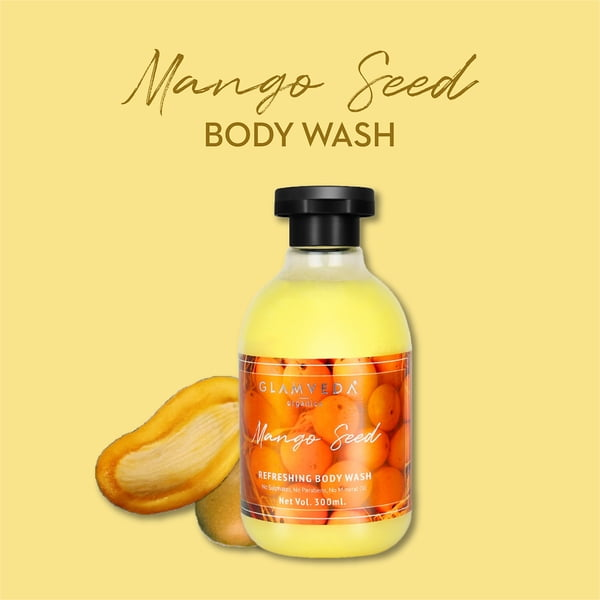 Glamveda Mango Seed Moisturizing Body Wash 300ml