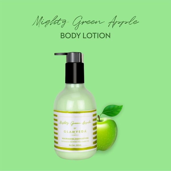 Glamveda Mighty Green Apple Body Lotion 300ml