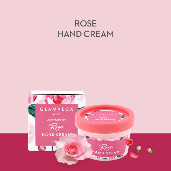 Glamveda Light Hydration Rose Hand Cream