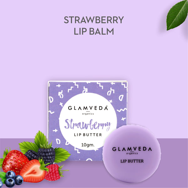Glamveda Strawberry Lip Balm