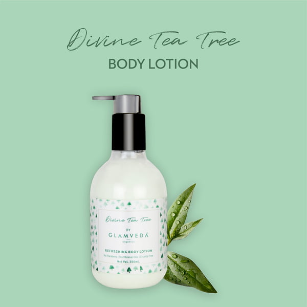 Glamveda Divine Tea Tree Nourishing Body Lotion 300ml