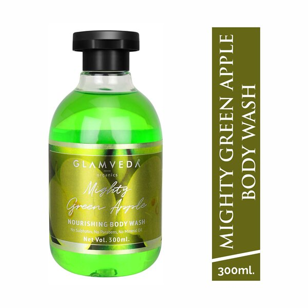 Glamveda Mighty Green Apple Body Wash 300ml