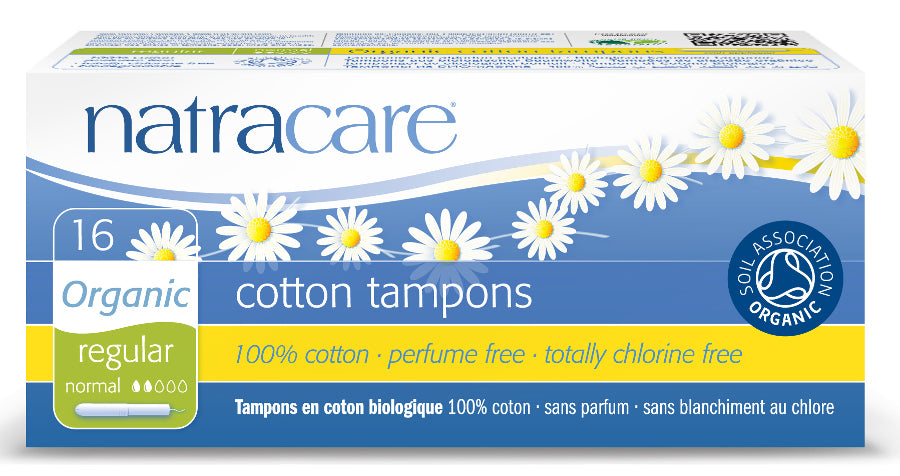 Organic Regular Applicator Tampon - 16's