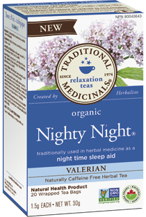 Traditional Medicinals -Nighty Night Tea - 20 bags
