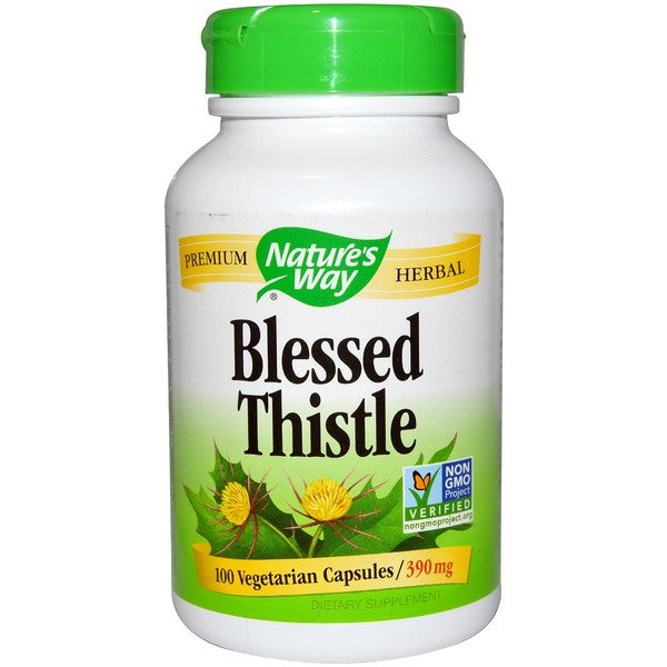 Blessed Thistle- 100 capsules
