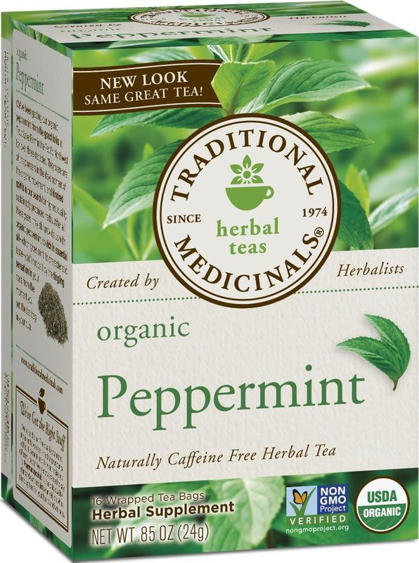 Traditional Medicinals - Organic Peppermint Tea - 20 bags
