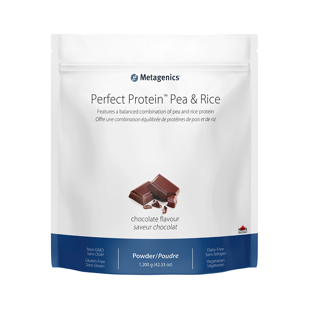 Perfect Protein Pea & Rice (Chocolate), 1200 g, Metagenics