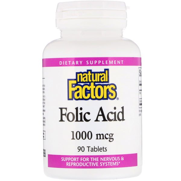 Folic Acid - 90 capsules