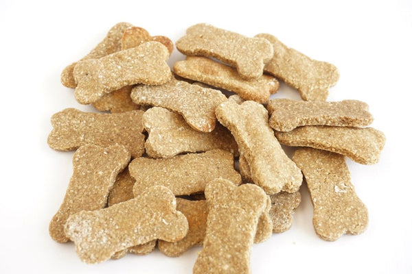 Milly and Me: Banana Peanut Butter Natural Dog Treats - WHEAT FREE