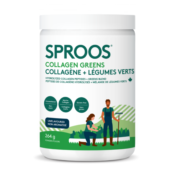 SPROOS - Collagen Greens - Unflavoured