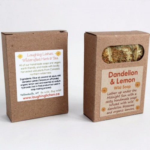 Laughing Lichen - Dandelion & Lemon Soap