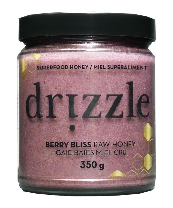 Drizzle Berry Bliss Raw Honey - Antioxidant Blend