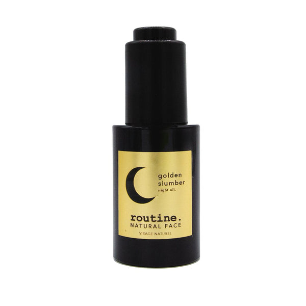 Routine: Golden Slumber - Face Oil