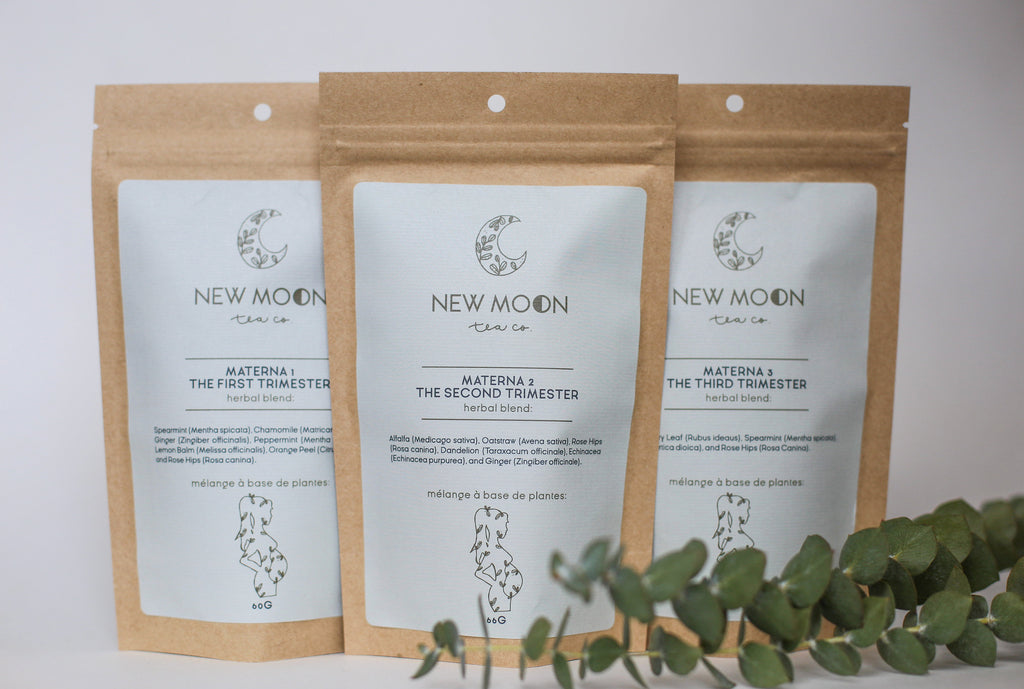 New Moon Tea Co. - Pregnancy Trio