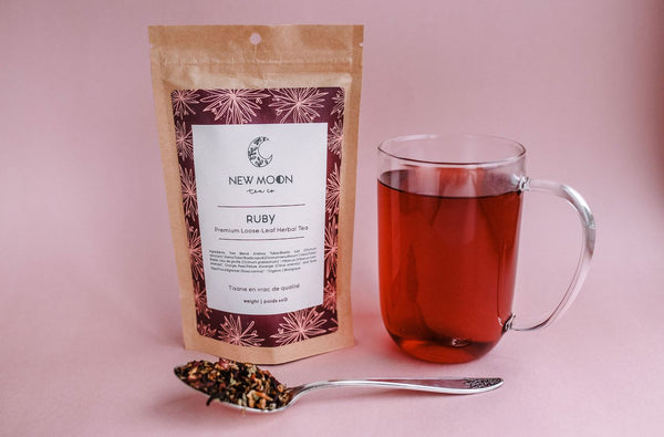 New Moon Tea Co - Ruby
