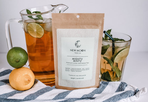 New Moon Tea Co - Mighty Minty