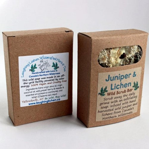 Laughing Lichen - Juniper & Lichen Scrub Bar